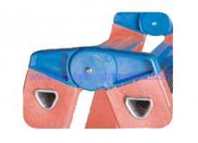 Fiberglass 6 Step Depth 3, 14'' 1,18'' Ladders Twin Front 5 ft 1