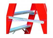 Fiberglass 5 Step Ladders Twin Front 5 ft 1