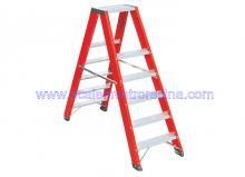 Fiberglass 6 Step Ladders Twin Front 6.09 ft
