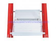 Fiberglass 4 Step Ladders Twin Front 3 ft 2